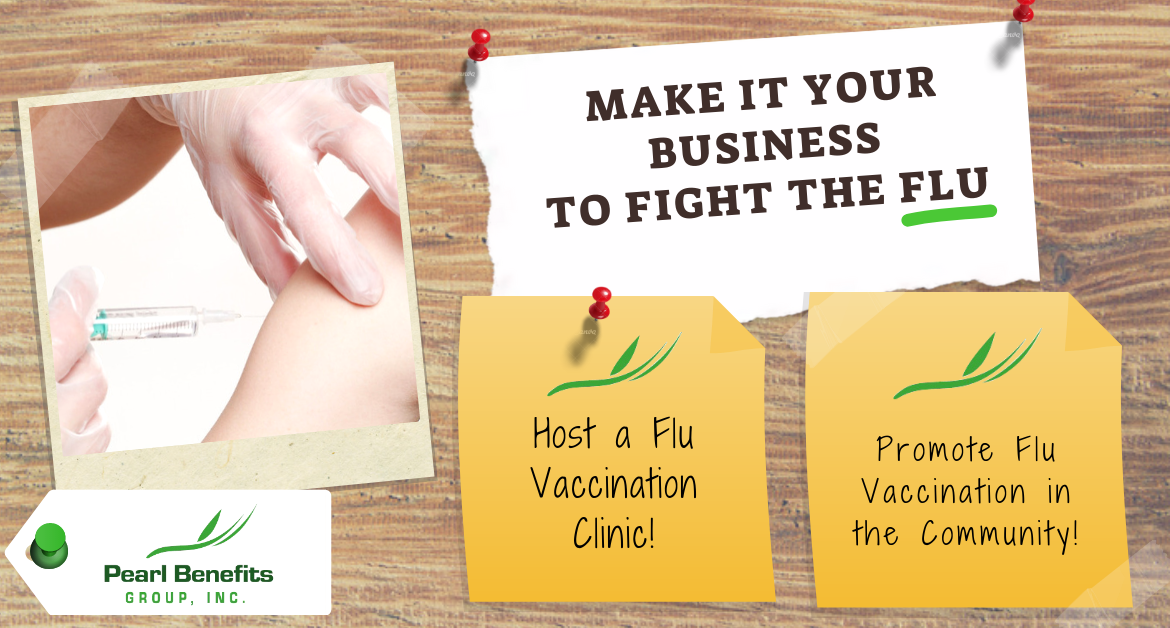 Make it your business to fight the flu
